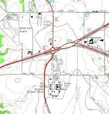 Dallas Area Map the 67 80 split near mesquite u2014 ca 1951 flashback dallas