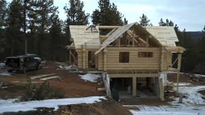 how to build a log home by mitchell dillman