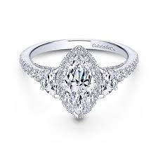 marquise diamond engagement ring marquise engagement rings gabriel co