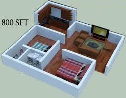 100 800 sq ft 800 sq ft 3 bhk 2t apartment for sale in