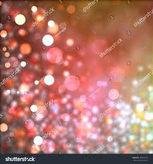 Red And White Christmas Lights by Beautiful Red Pink Gold Bokeh Background Stock Illustration