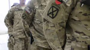 Army Uniform Flag Patch Soldiers Receive Combat Patch In Afghanistan Youtube