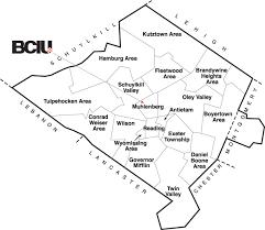 map of berks county pa districts berks county intermediate unit