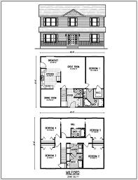 Floor Plans For A 4 Bedroom 2 Bath House 2 Story House Floor Plan Home Designs Ideas Online Zhjan Us