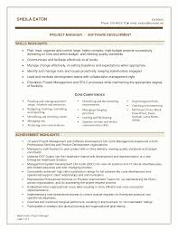 project manager resume template project manager resume skills embersky me
