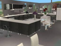 sims 3 cuisine emejing maison de luxe moderne sims 3 images seiunkel us