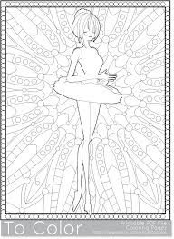 ballet dancer coloring pages free ballerina adults barbie