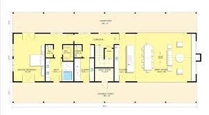 Shotgun House Plans Designs Pole Barn House Plans Blueprints Condointeriordesign Com