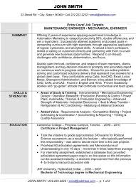 Sample Resume Engineering by Electrical Maintenance Engineer Sample Resume