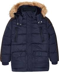 mayoral junior boys navy parka coat mayoral mayoral fall