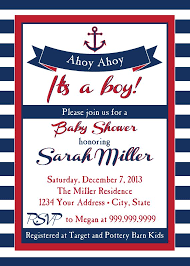 nautical themed baby shower nautical themed baby shower invitations marialonghi