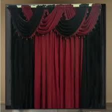 Sheer Maroon Curtains Curtains For Living Room Curtain Sheer Modern Kitchen Cortinas