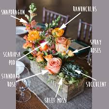 rustic center pieces rustic flower box centerpiece breakdown fiftyflowers the