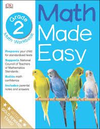 math made easy second grade workbook math made easy dk