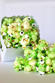 munch on monster slime popcorn recipe popcorn recipes popcorn