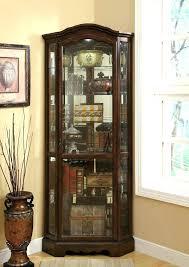 black corner china cabinet black corner curio cabinet brown canada lisacintosh