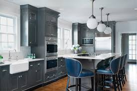 blue gray kitchen cabinets 35 gray kitchen counters you can t say no to with pictures