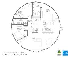Deltec Homes Floor Plans Net Zero Energy In The Round Time To Build