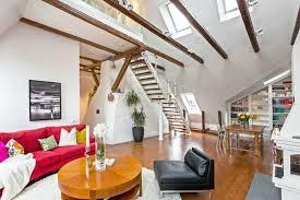dachgeschoss gestalten spektakulär tolles wohnzimmer auf dem dach gestalten dachgeschoss