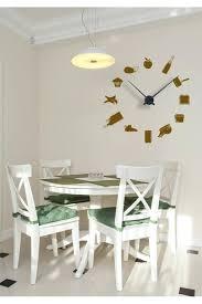 horloge murale cuisine originale pendules de cuisine originales sticker horloge murale en cuisine 2