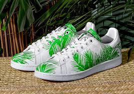 pharrell x x adidas stan smith palm tree sneakernews