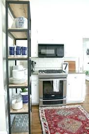 kitchen bookshelf ideas small kitchen bookcase huetour club