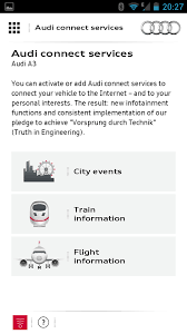 my audi connect login myaudi mobile android apps on play