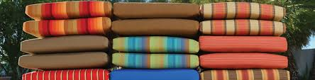 Patio Furniture Fabric Replacement by Ideas Comfy Sunbrella Cushions With Beautiful Option Colors For