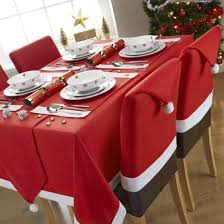 christmas chair covers 6 christmas chair covers dinner table santa hat home decorations