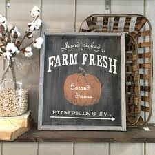 Chesterfield Pumpkin Patch 2015 by 18 U2033x21 U2033 Framed Wood Sign Workshop Many Fall Halloween And