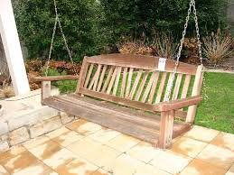 outdoor swing bench plans cheap swing bench porch swing with