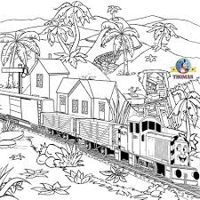 thomas friends coloring pages gordon emily train merry