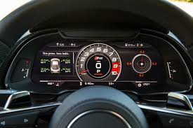 audi r8 gauges everything you want 2017 audi r8 v10 and v10 plus review