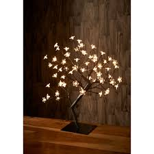 light up bonsai tree warm white led trees b m