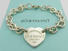 tiffany heart tag bracelet silver images Authentic tiffany co sterling silver return to tiffany heart tag jpg