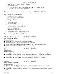 Resume Objective Receptionist Charl Erasmus Cv