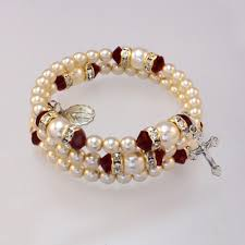 rosary bracelets catholic christian gifts sacrament holidays family occasions
