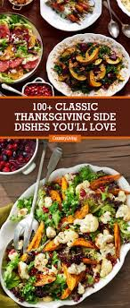 update your menu with these 100 classic thanksgiving side dishes