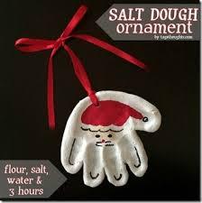 salt dough ornament typically simple