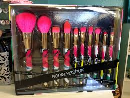 sonia kashuk art of makeup 10 piece brush set spring 2015 youtube