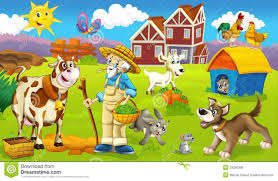 the page with exercises for kids farm illustration for the