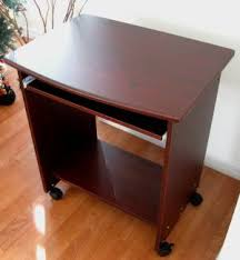 Small Computer Desks With Drawers Sw2718 26 W Narrow Compact Computer Desk W Mouse Tray