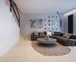 wohnzimmer ecksofa modernes wohnzimmer mit dunklem sofa einrichten 55 ideen