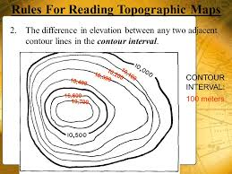 how to read topographic maps topographic maps september ppt