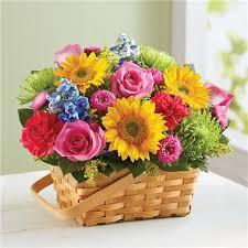 flower basket in grand rapids flower basket blue iris
