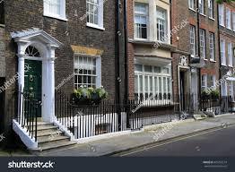 grand victorian mansions kensington london uk stock photo