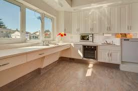flooring modern kitchen design with cozy marmoleum flooring and