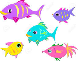 colorful group of fish royalty free cliparts vectors and stock