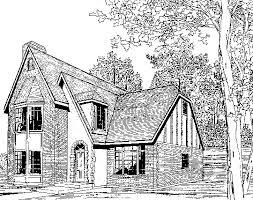 English Tudor Floor Plans Tudor House Plan Model T 901 Specifications From Creative House Plans