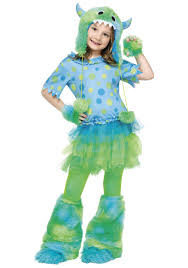 cute halloween costumes for toddler girls child monster miss costume